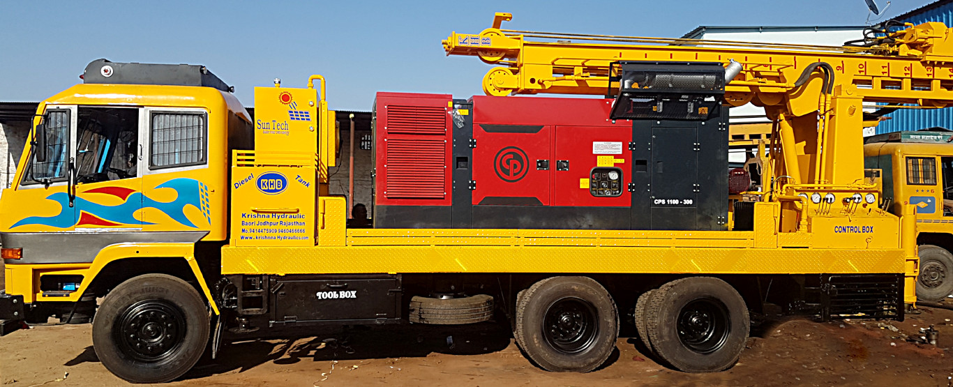 DTH Drilling Rig Machines